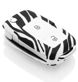 Skoda KeyCover - Zebra