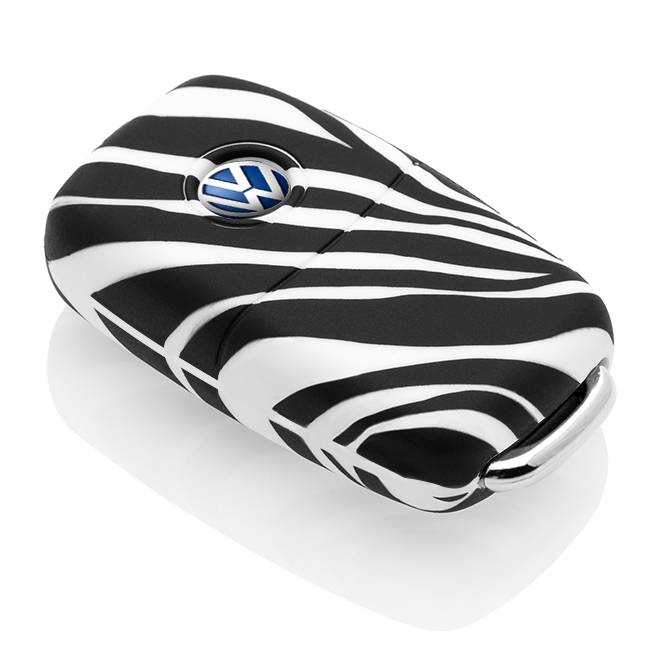 Volkswagen Car key cover - Zebra
