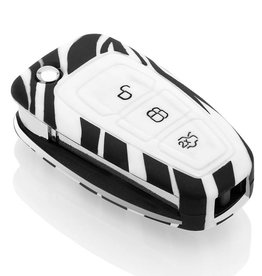 Ford Car key cover - Zebra