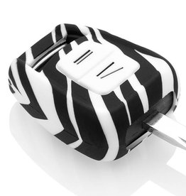 Opel Car key cover - Zebra