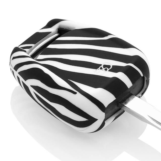 Opel Schlüssel Hülle - Zebra