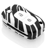 Renault Car key cover - Zebra