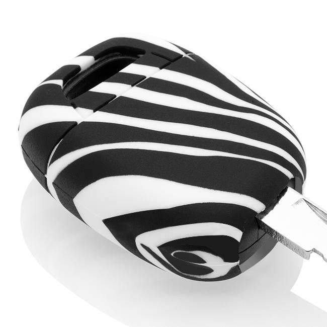Renault Schlüssel Hülle - Zebra