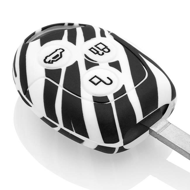 Ford Car key cover - Zebra