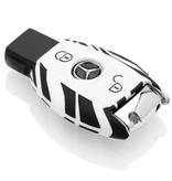 Mercedes Schlüssel Hülle - Zebra
