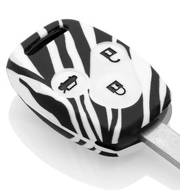 Honda Car key cover - Zebra