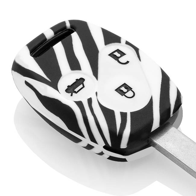 Honda Schlüssel Hülle - Zebra