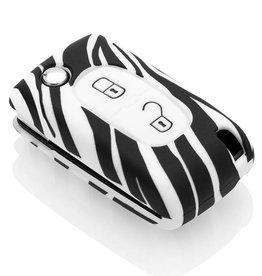 Peugeot Car key cover - Zebra