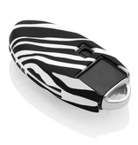 Nissan Car key cover - Zebra