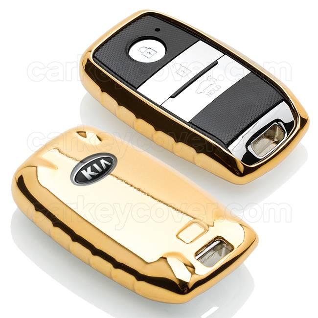 Kia Car key cover - Gold (Special)
