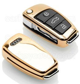 Audi Housse de protection clé - Gold (Special)