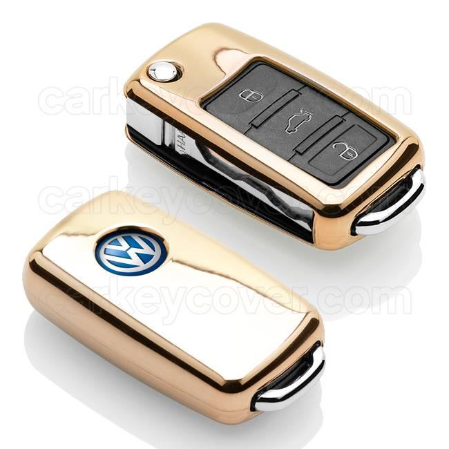 Volkswagen Schlüssel Hülle - Gold (Special)