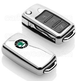 Skoda Housse de protection clé - Chrome (Special)