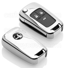Vauxhall Housse de protection clé - Chrome (Special)
