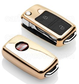 Seat Car key cover - Gold (Special)