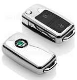 Skoda Car key cover - Chrome (Special)