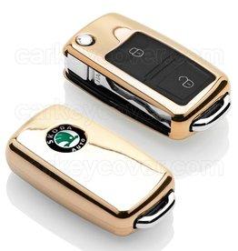 Skoda Car key cover - Gold (Special)