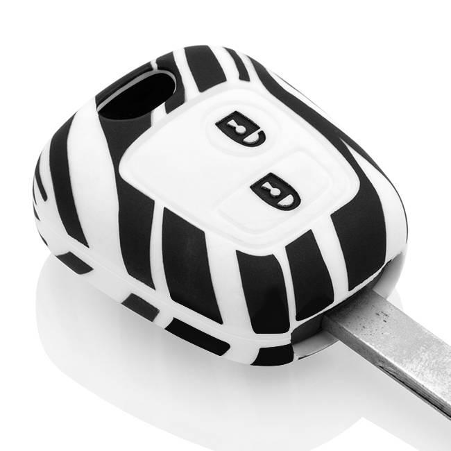 Citroën Car key cover - Zebra