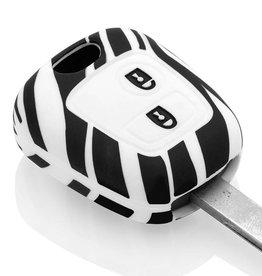 Toyota Car key cover - Zebra