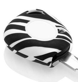 Renault Car key cover - Zebra