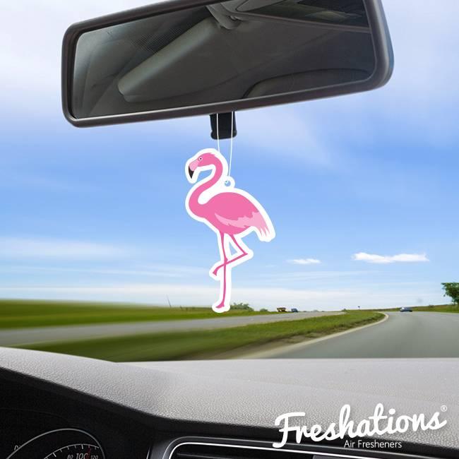 Assainisseurs d'air de Freshations | Summer - Flamingo | Fruit Cocktail