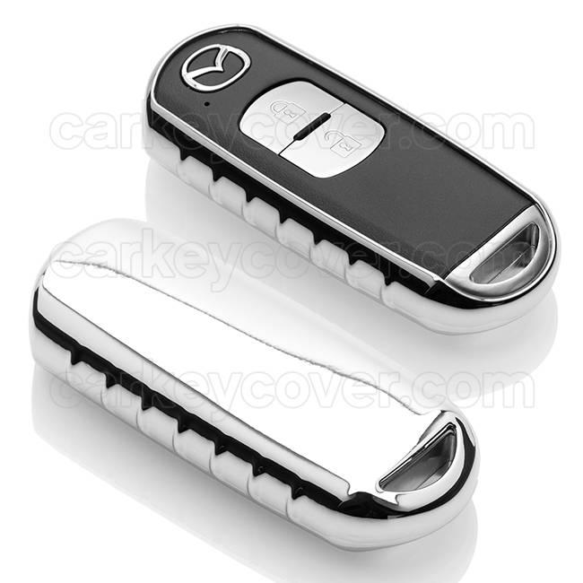 Mazda Housse de protection clé - Chrome (Special)