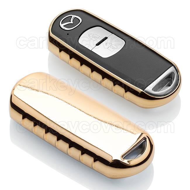 Mazda Schlüssel Hülle - Gold (Special)