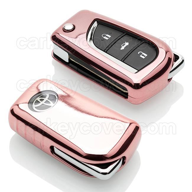 Toyota Car key cover - Rose Gold (Special)