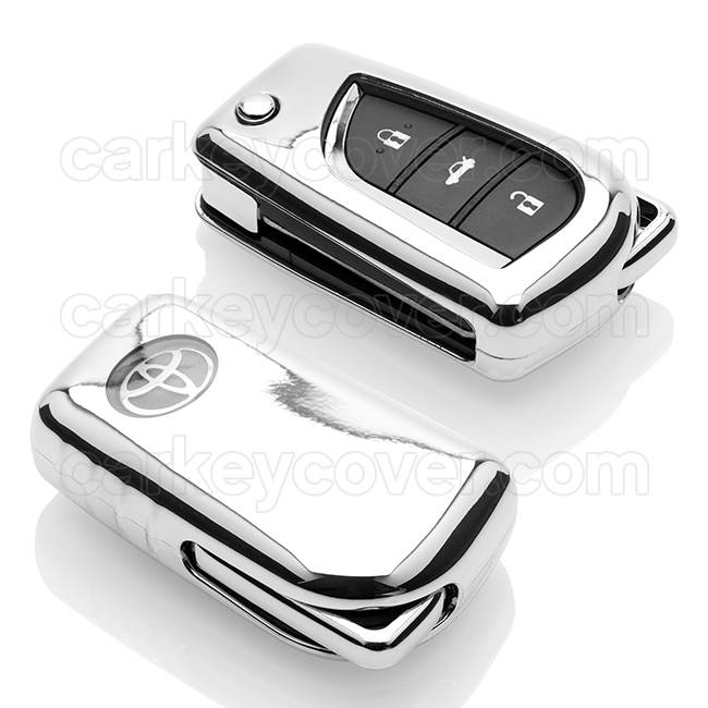Toyota Car key cover - Chrome (Special)