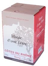 AOP Côte du Rhône rouge 5 Litre Bag in Box