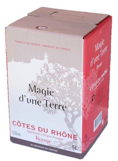 AOP Côte du Rhône rouge 5 Liter Bag in Box