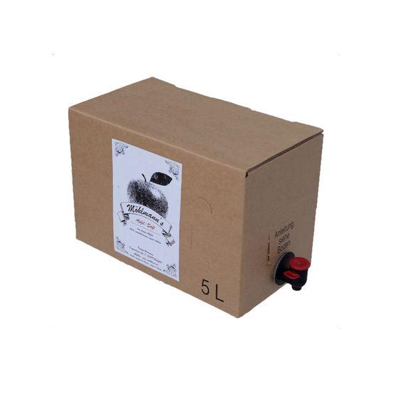 m hlmann 39 s naturtr ber apfelsaft 5 liter bag in box weinschlauch online. Black Bedroom Furniture Sets. Home Design Ideas