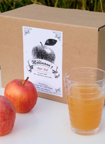 Möhlmann's Apfelsaft 5 Liter Bag in Box