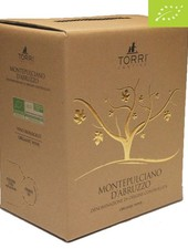 Torri Cantine Montepulciano D'Abruzzo DOC BIO 5 Liter Bag in Box - DE-ÖKO-037
