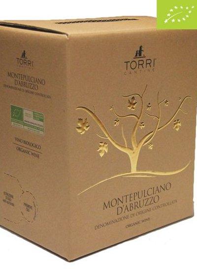 Torri Cantine Montepulciano D'Abruzzo DOC BIO 5 Liter Bag in Box -DE-ÖKO-037