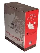 La Cave Les Coteaux du Rhône AOC Côte du Rhône rouge 3 Liter Bag in Box
