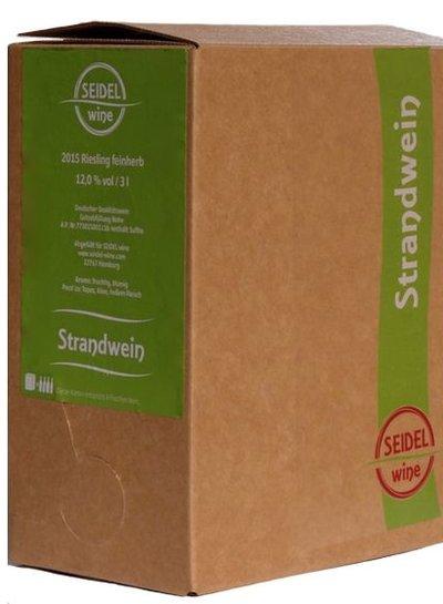 Riesling feinherb QbA 3 Liter Bag in Box