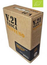 Vasca Ventuno Grillo BIO 3 Liter Bag in Box -DE-ÖKO-037