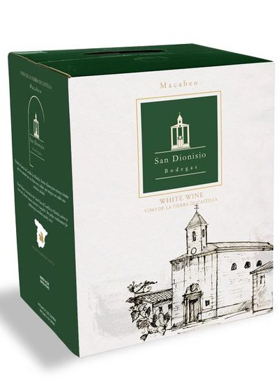 Vino Bianco Macabeo 5 Liter Bag in Box