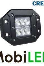 Breedstraler CREE 24 watt inbouw