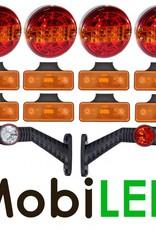 Ensemble d'éclairage Ronde Remorque 12-24 volt