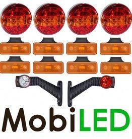 Ensemble d'éclairage Ronde Remorque 12-24V