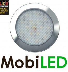 LED autolamps Éclairage intérieur Mince Ronde 12V Chrome