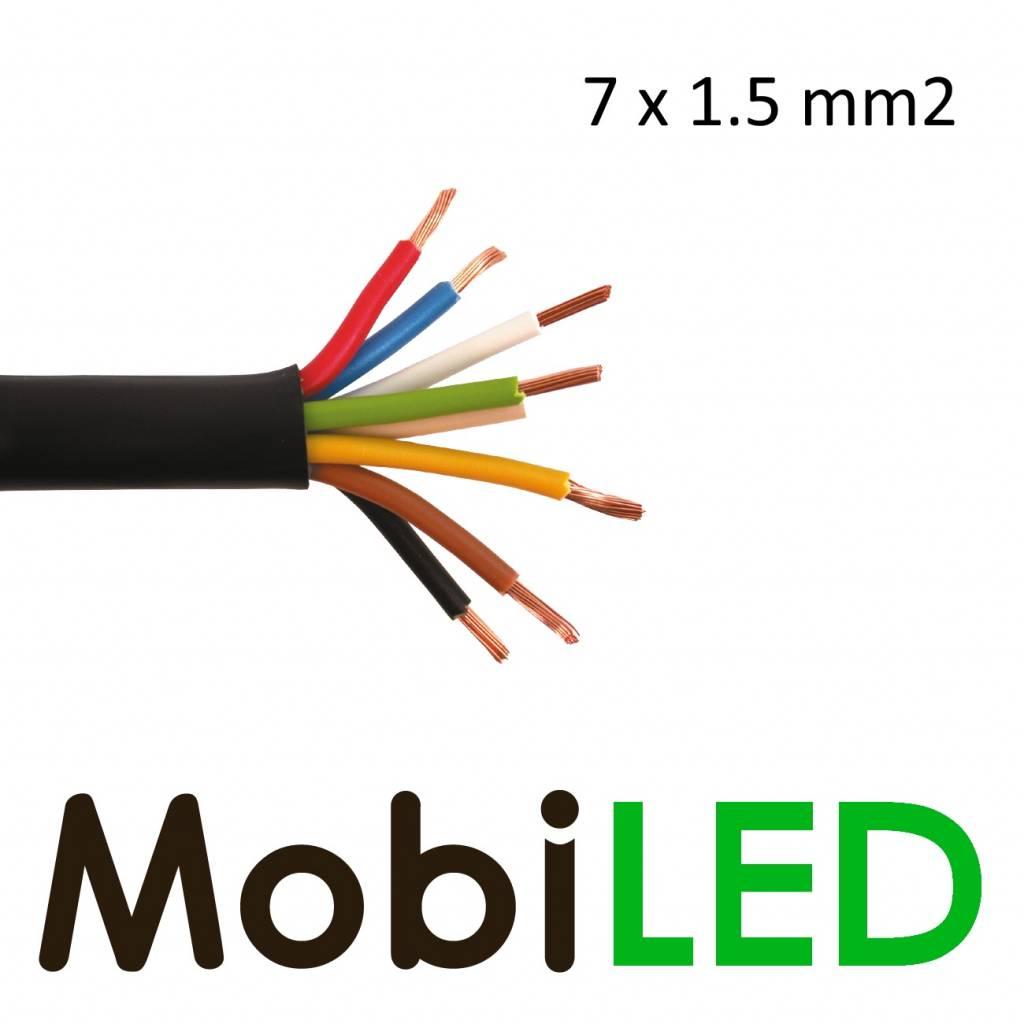 Câble de connexion 7 fils 7 x 1.5mm2