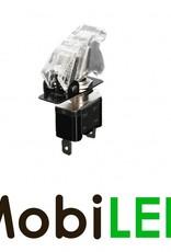 Interrupteur LED 20 Ampère 12 volt blanc