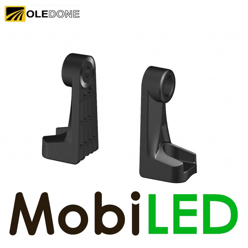 OLEDONE Kit de montage latéral pour Oledone barre lumineuse
