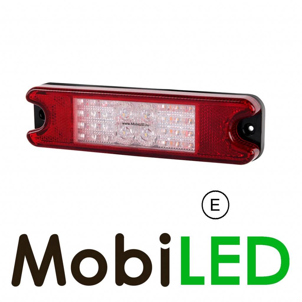 Slimline Achterlicht 12-24 volt 4 functies E-keur