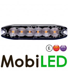 Ultra Slim LED flitser 6 leds R10/R65 E-Keur