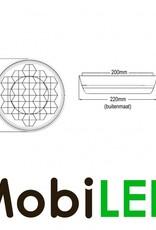 Flash ambre 200mm pour Signalisation de chantier, version maître
