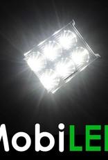 Ensemble d'action: 2x 18 watt Projecteur de loin CREE 12-24 volt